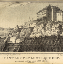 Le château Saint-Louis et le Palais de l'Intendant