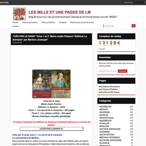 Les milles et unes pages de LM - 20 avril